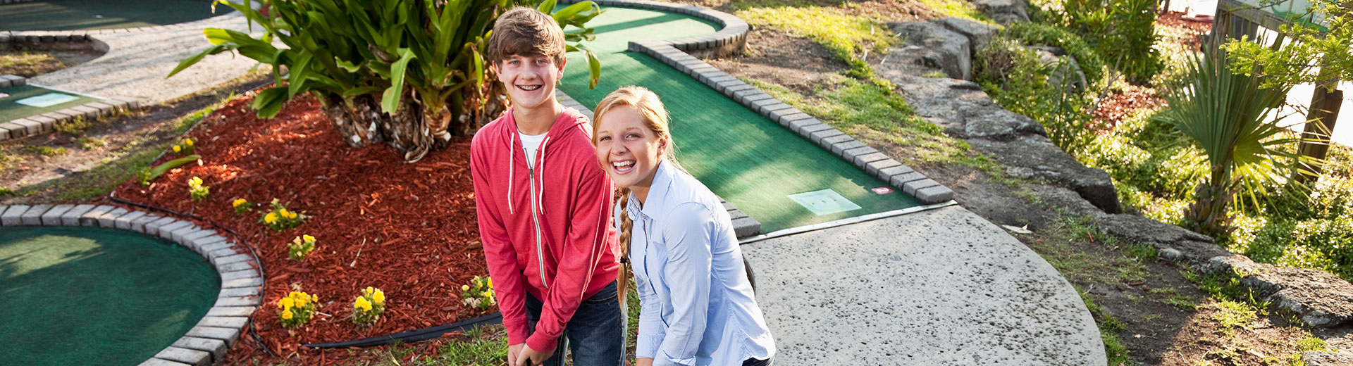 Mini Golf Group Outing | Adventure Landing Family Entertainment Center | Gastonia, NC