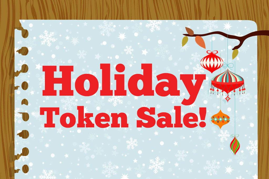 Holiday Token Sale Gastonia
