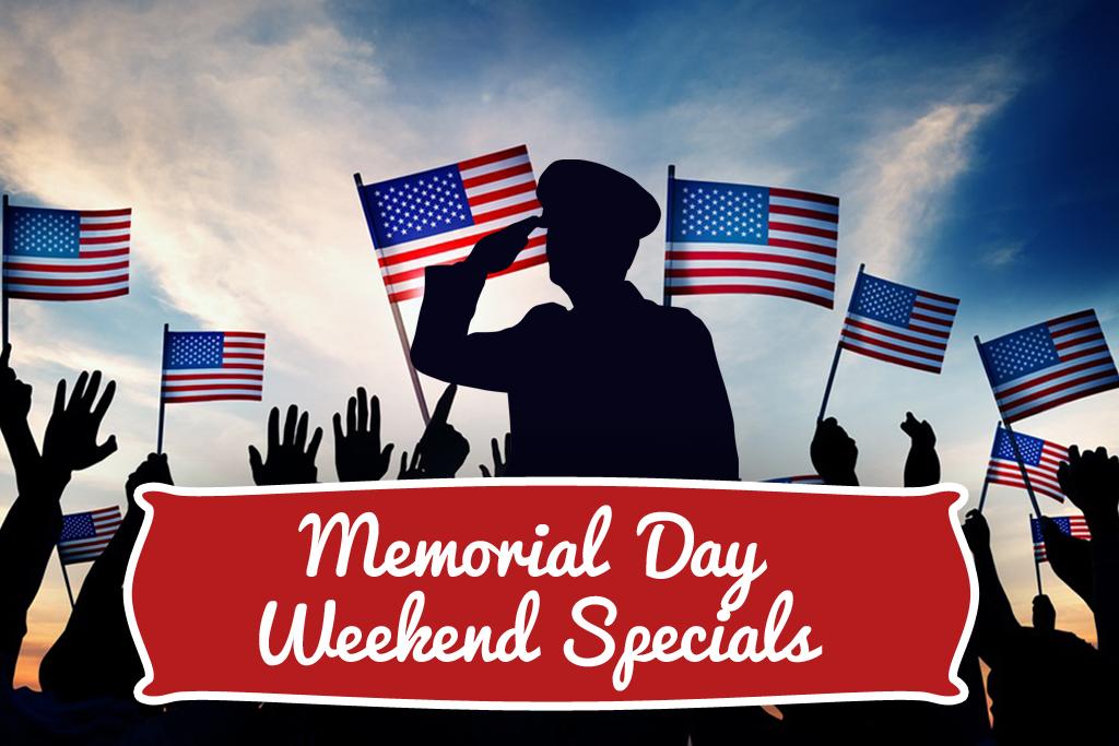 Memorial Day Weekend Specials Gastonia