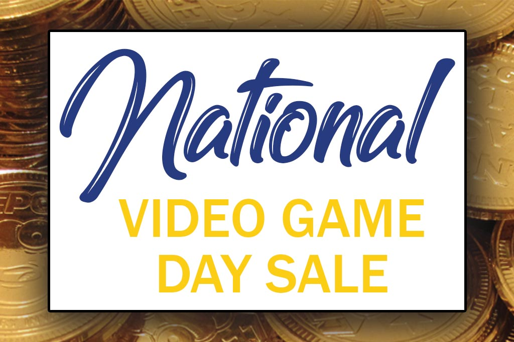 National Video Game Day Sale Gastonia